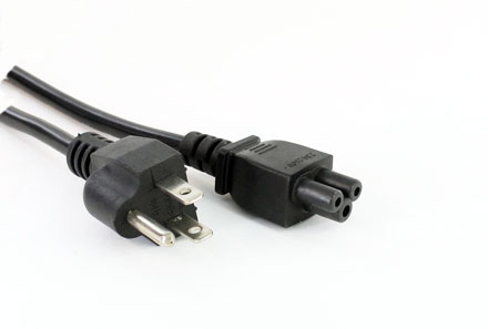 Cold devices power cord (Cloverleaf) US