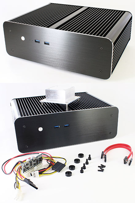 Akasa Euler MX Mini-ITX enclosure (A-ITX25-M1B)