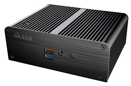 Akasa Newton P enclosure (for Intel NUC NUC5PPYB/NUC5CPYB) <b>[FANLESS]</b>