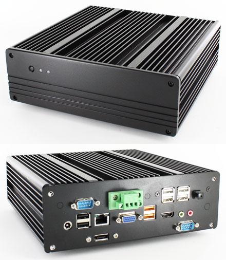 Blackpete-DN2800MT barebone (with Intel DN2800MT Half-Height ITX) *new*