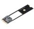 Akasa AK-PCCMSA-02 m.2 to SATA Adapter (m.2 to normal SATA) f. Intel NUC