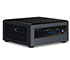 "Intel NUC10i3FNH<b>FA</b> (Intel Core i3-10110U up to 4,10GHz, 1x HDMI, 5x USB 3.1, 4GB RAM, <b>1TB 2,5"" SATA HDD, Win10 Home</b>"