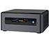 """Intel NUC8i7BEH (Intel Core i7-8559U 8x 2.70GHz, 1x HDMI, 1x M.2, <b>2,5"""" SATA SSD</b> Support)"""