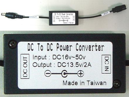 CTF-DCDC-24V TFT display power-adapter f. trucks (16-40VDC)