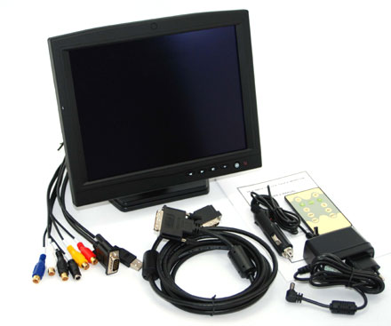 "CTF1040-<b>SXLD</b> - VGA/DVI 10.4"" TFT - Touchscreen USB - Video - Autodimmer -  Audio [1024x768, Contrast 1200:1, LED] <b>-TRANSFLECTIVE-</b>"