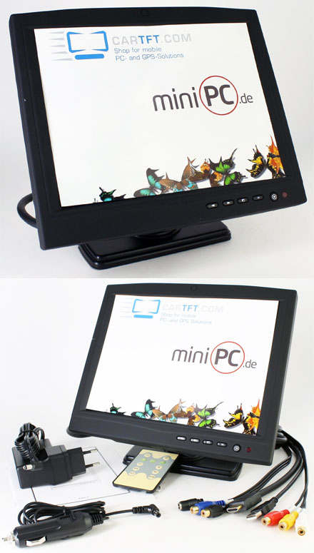 "CTFHD1040-SXL-UL - HDMI 10.4"" TFT - Touchscreen USB - Video - Autodimmer - Audio <b>(LED, 1100nits) -TRANSFLECTIVE PRO-</b>"