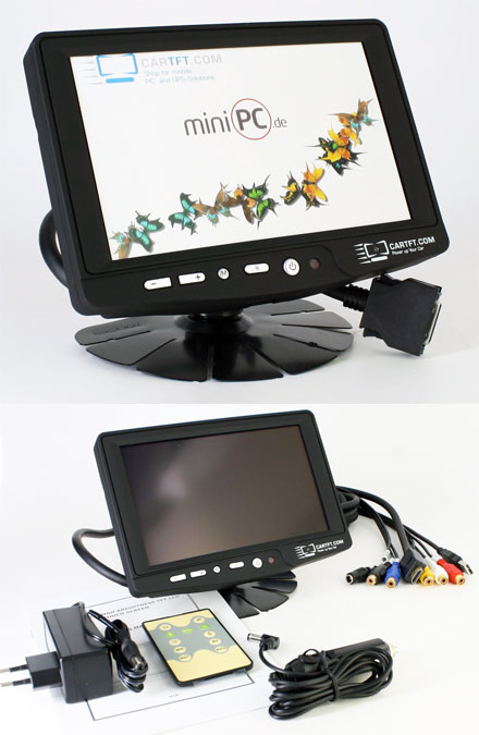 "CTFHD700-<b>H</b> - HDMI 7"" TFT - Touchscreen USB - Video - Autodimmer - Audio (<b>800nits , TMR-Technology</b>)"