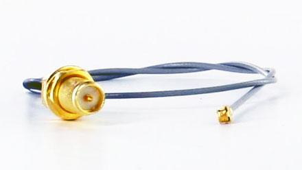 Pigtail cable UFL U.FL RP-SMA RSMA (25cm, for Mini-PCI WLAN,3G,GPS)