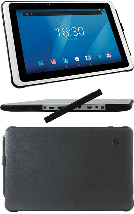 """MOVES101r Classmate PC Tablet (Android 9, 10.1"""" Multi-Touch, 32GB eMMC, 2GB RAM, WLAN/BT/GPS)"""
