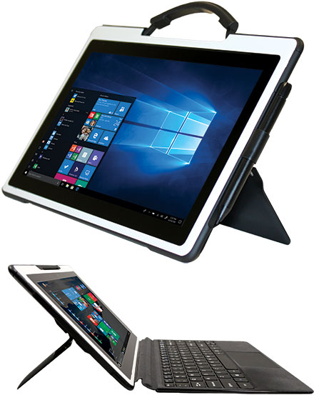 "SLIDET301 Classmate PC Detachable (Win 10 Pro, 11.6"" Multi-Touch, 64GB eMMC, 4GB RAM, WLAN/BT/GPS)"