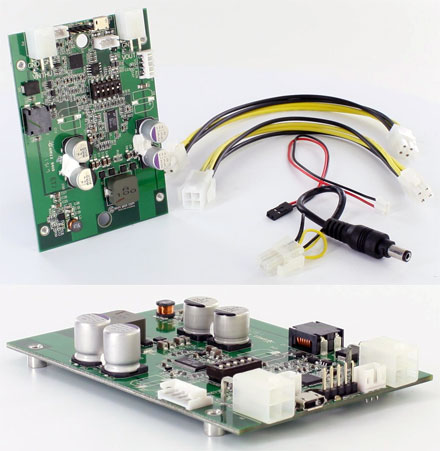 """DCDC-NUC (Converter from 6-48V to 12/19V, max. 100 watts, 2.5"""" size)"""