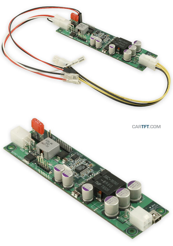 DCDC-USB (Converter from 6-34V to 5-24V, max. 100 watts)