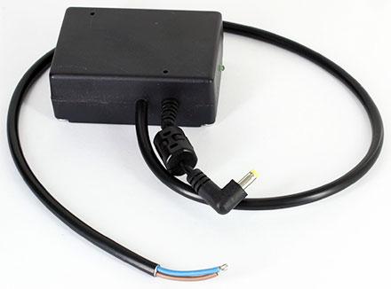 Integration Micro-USB charger/converter 12/24V (9-36V to 12V DC 4.0x1.7mm, max. 2A/24W)