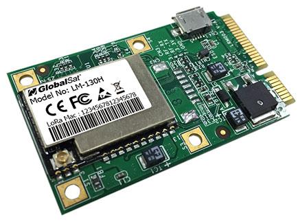 Globalsat LD-11H (Mini-PCIe Tx/Rx Send-/receiveadapter LoRaWAN)