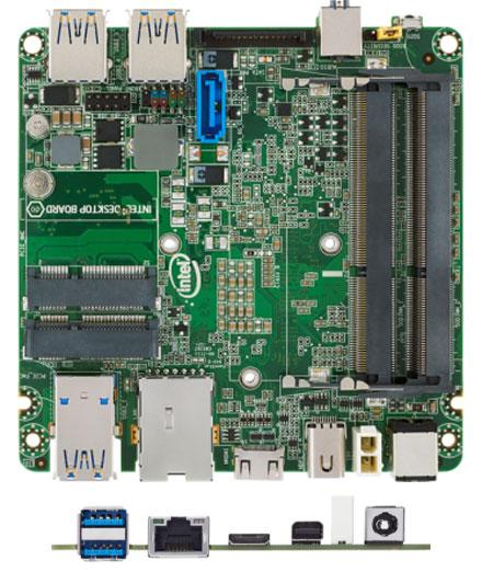 Intel NUC D54250WYB Mainboard (Next Unit of Computing, Intel Core Core i5 4250-U)