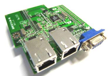 Jetway ADD-ON AD9CRT2LAN (2x LAN + 1x VGA)