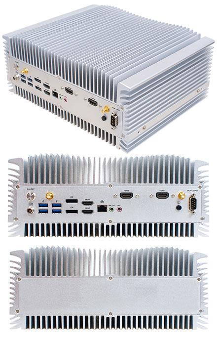 Jetway HBJC909C9A (Intel Coffee Lake, H310, LGA1151) [4x HDMI, 2x DP, <b>FANLESS</b>]