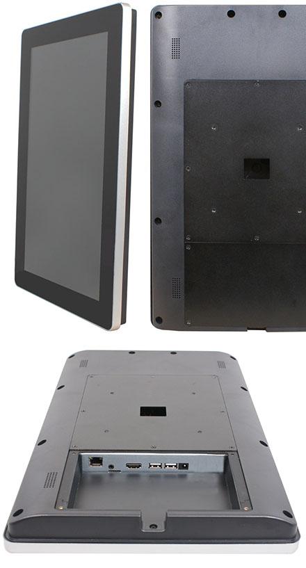 "Jetway HPC-156 (15.6"" Panel PC, ARM Cortex RK3288, 2GB RAM, 8GB Flash ROM)"