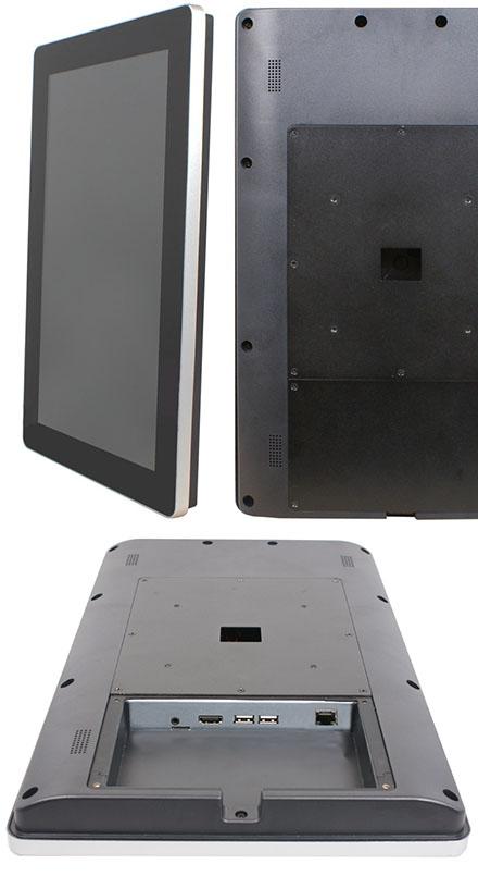 "Jetway HPC-P156 (15.6"" Panel PC, ARM Cortex RK3288, 2GB RAM, 8GB Flash ROM, <b>POE Input</b>)"