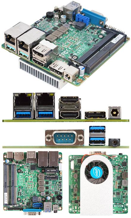 Jetway JNU95-10210 (Intel Comet Lake-U) [2x LAN, 3x HDMI/DP, NUC, 12-24V DC-in]