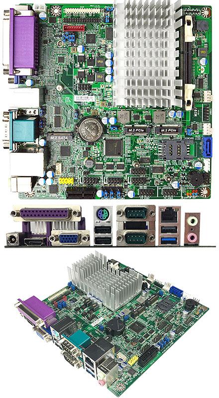 Jetway MI97-32 (Intel Bay Trail N2930) [3x M.2 Slot, SIM-Slot, 2x RS232 (5x COM), <b>TPM 2.0</b>]