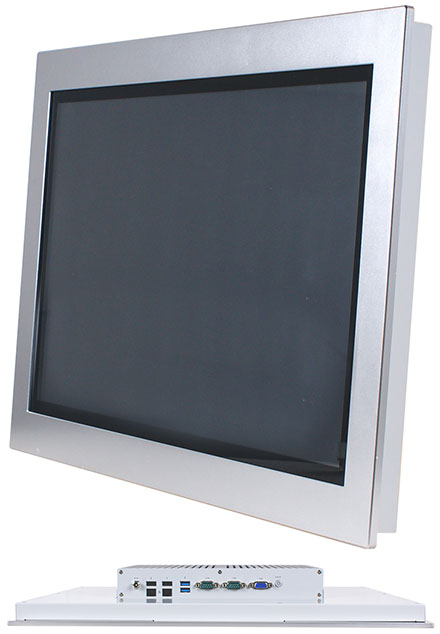 "Jetway HPC-185SC-HD1900B Panel-PC (18.5"" 1366x768 PCAP Touchscreen, Intel Celeron J1900, 4GB RAM, 32GB SSD) [IP65/NEMA4 Front]"