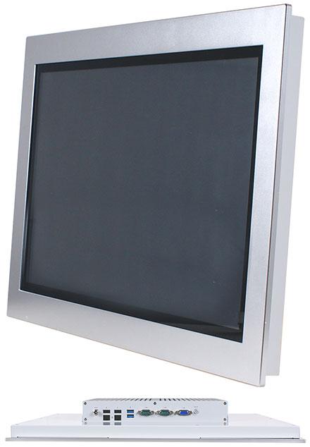 "Jetway HPC-185SC-HD1900B Panel-PC (18.5"" 1366x768 PCAP Touchscreen, Intel Celeron J1900, 4GB RAM) [IP65/NEMA4 Front]"