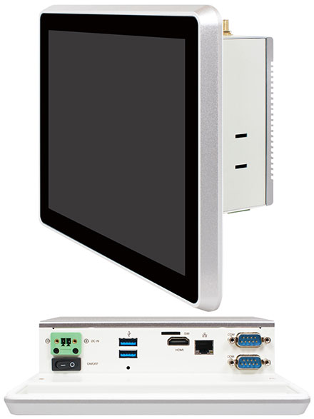 "Jetway HPC080SC-FP3350 Panel-PC (8"" 1024x768, Intel N3350)"