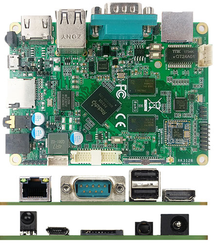 Jetway JARMR3128-1N (ARM Cortex A7, Android 5 1 / Linux 4 4)