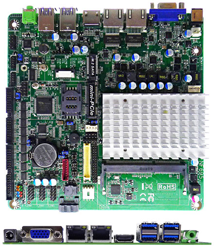 Jetway JNF695L-3455 (Intel Apollo Lake) [6x COM, 1x HDMI]