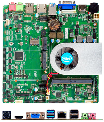 Jetway NC6J-I6100-6C (Intel Skylake-U)