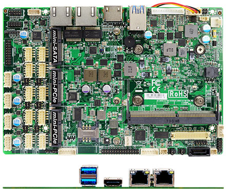 Jetway JNC7B-E6200 (Intel Skylake-U)