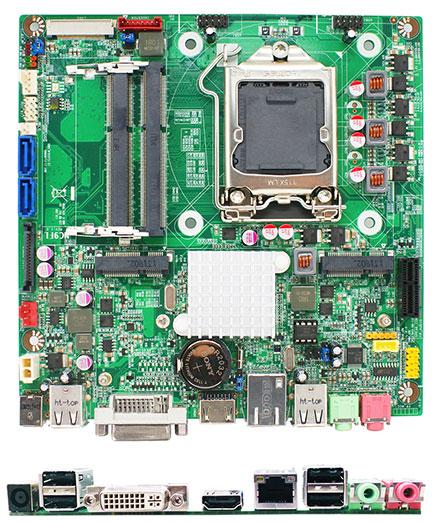 Jetway JNF9FL-H61 (Intel H61)