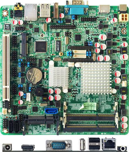 Jetway JNF9C-2600 (Intel Cedar Trail-M)