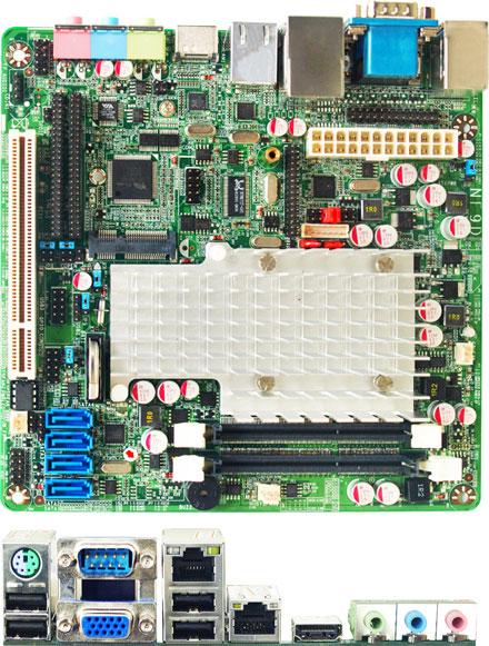 Jetway NF9D-2550 (Intel Cedar Trail-D)