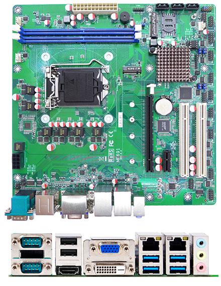 Jetway NMF691<b>T</b>-H110 (Intel H110 Skylake)<br>