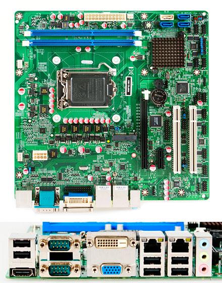 Jetway NMF92-H61 (Intel H61)