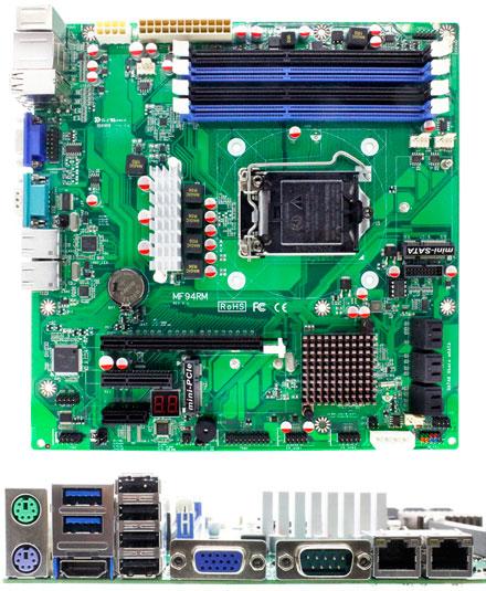 Jetway NMF94RM-Q87 (Intel Q87 Express)
