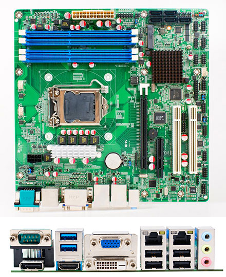 Jetway NMF95-Q87 (Intel Q87 Express)