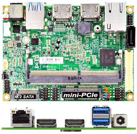 Jetway JNP891G32-4105 (Intel Gemini Lake)