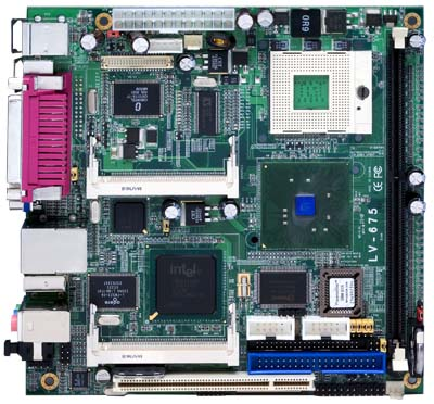 Commell LV-675 (without I/O shield) [<b>RECERTIFIED, 1 yr. warranty</b>]