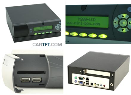 M300-LCD Enclosure (1x PCI)