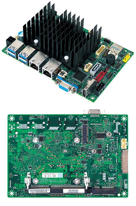 Mitac PD10AS 3.5-SBC (Intel Apollo Lake E3940, VGA+HDMI, Dual LAN) [Extended temperature range -40°C to 85°C]