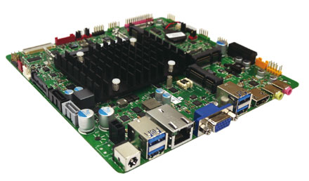 Mitac PD10RI-N3710 (Intel DN2800MT3B) Half-Height (Intel Pentium N3710 4x2.56Ghz CPU, 10-19VDC) [<b>FANLESS</b>]