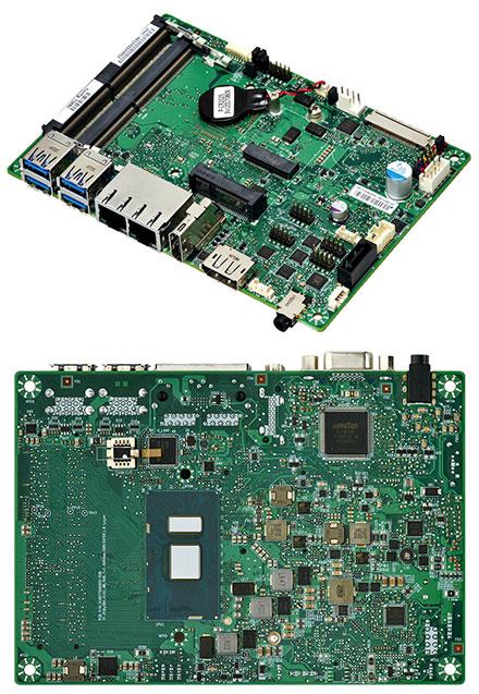 Mitac PD11KS 3.5-SBC (Intel Kaby Lake, i5-7300U, VGA+dP)