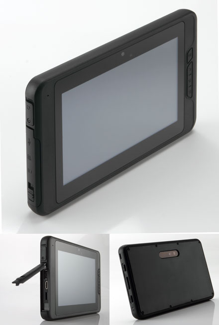 "Mitac ULMO (7"" Android TabletPC, Waterproof IP54, Ruggedized, 1Ghz/512MB RAM, GPS/WLAN/BT/3G)"