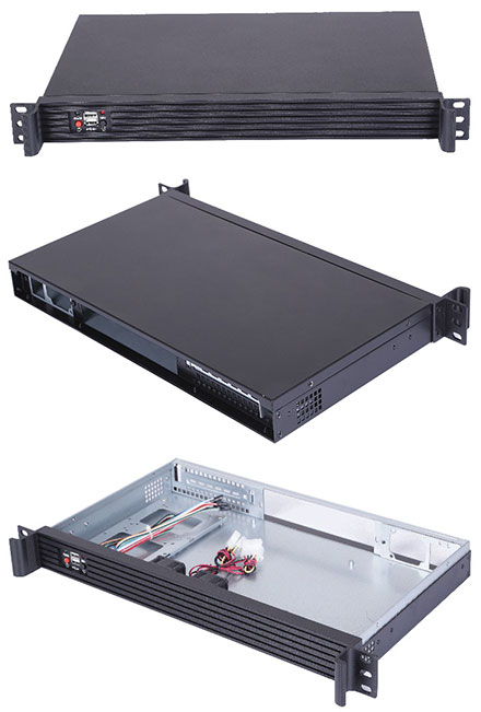 Morex Mini-ITX case 1U-250B (without power supply)