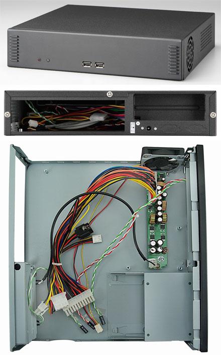 Morex Mini-ITX case 2756 (60W)
