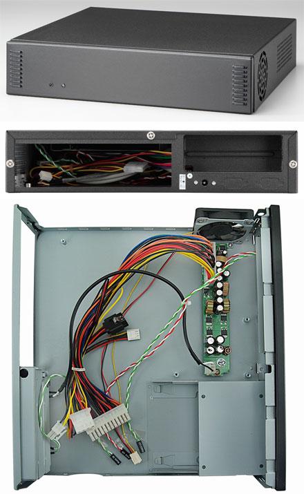 Morex Mini-ITX Gehäuse 2757 (80W)