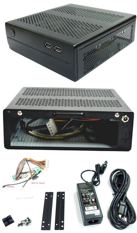 Morex Mini-ITX Gehäuse 557 (without PSU)